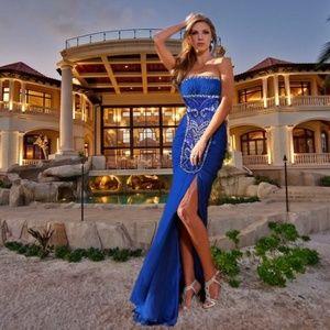 0430d79146c7 MNM Couture Dresses | Fouad Sarkis Off Shoulder Gown 10 | Poshmark